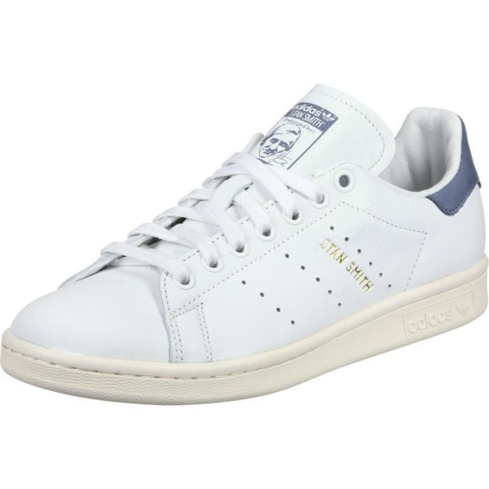 Beige Adidas Bleu Taille Homme Chaussures Smith Blanc Stan Oj944 T1clFKJ3