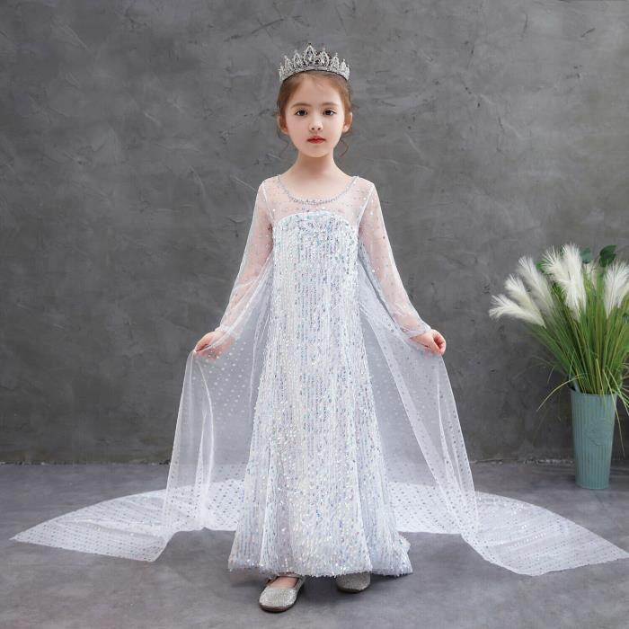 Lito Angels Fille Princesse Cendrillon Papillon Robe Costume D/éguisement Anniversaire F/ête Halloween No/ël Partie Carnaval Cosplay 2 Ans Bleu