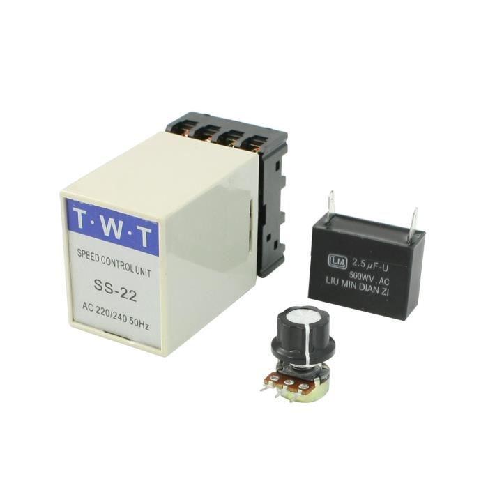 20/K Ohm potentiom/ètre Contr/ôleur de vitesse moteur /électrique 220/V//240/V AC