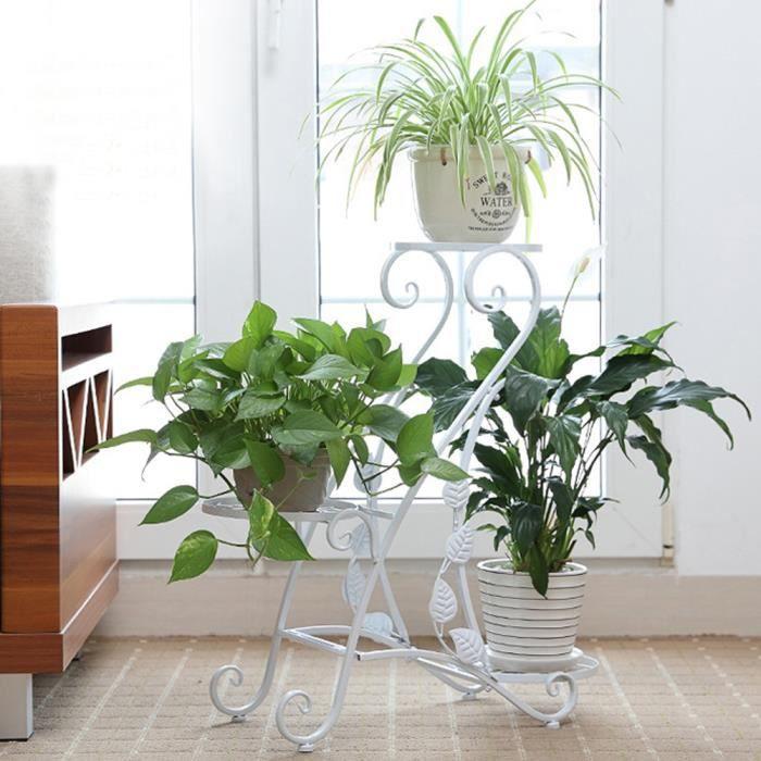 Salon de jardin fer forge blanc