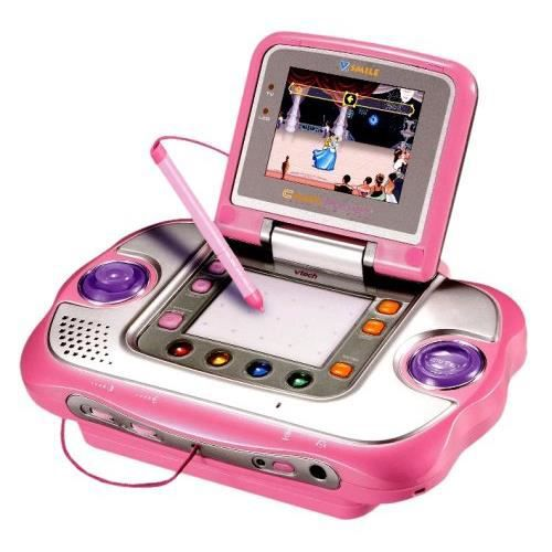 vtech cyber vsmile pocket rose achat vente console autonome vtech cyber vsmile pocket r. Black Bedroom Furniture Sets. Home Design Ideas
