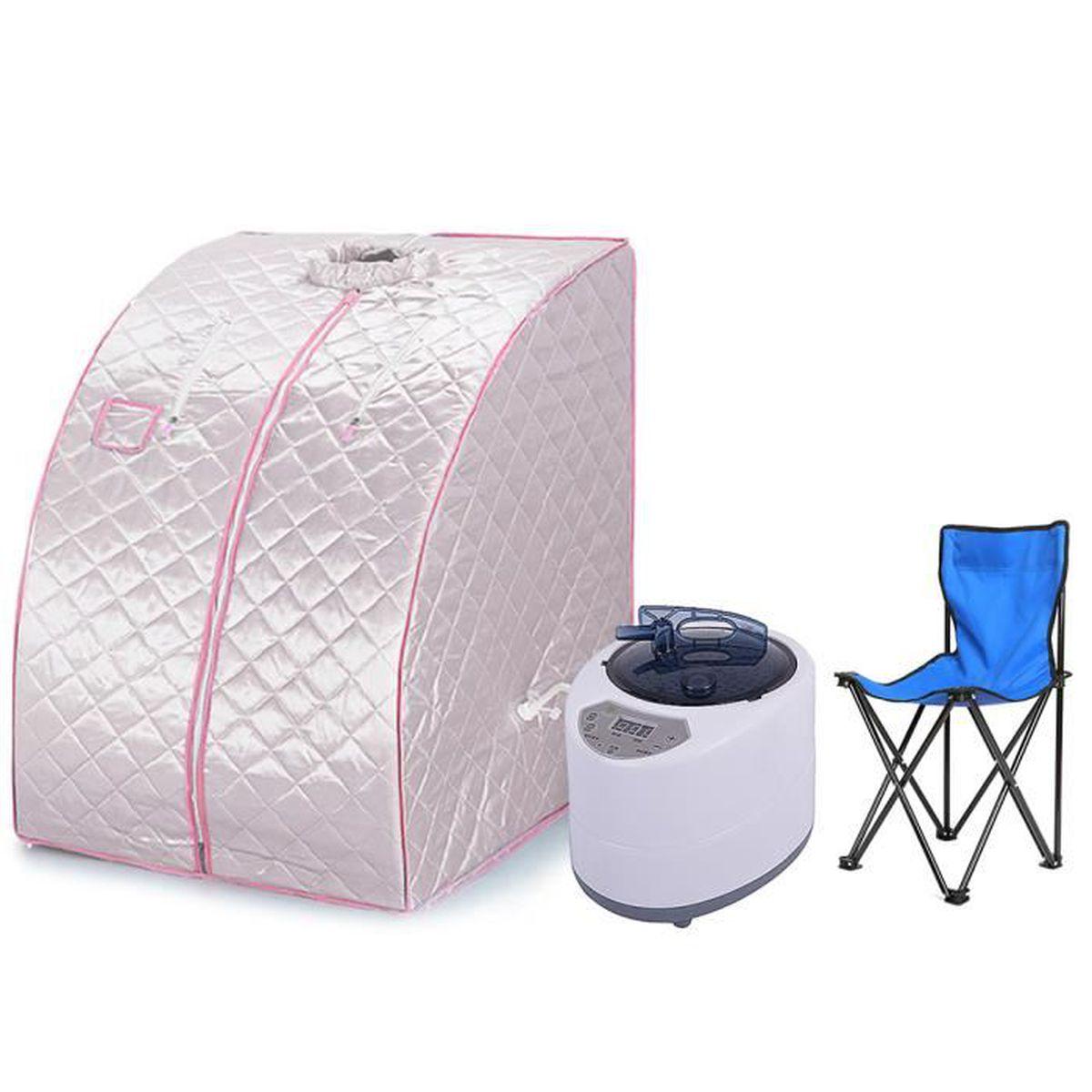 Cabine De Sauna Prix kyucc@cabine de sauna vapeur portable mobile sauna box
