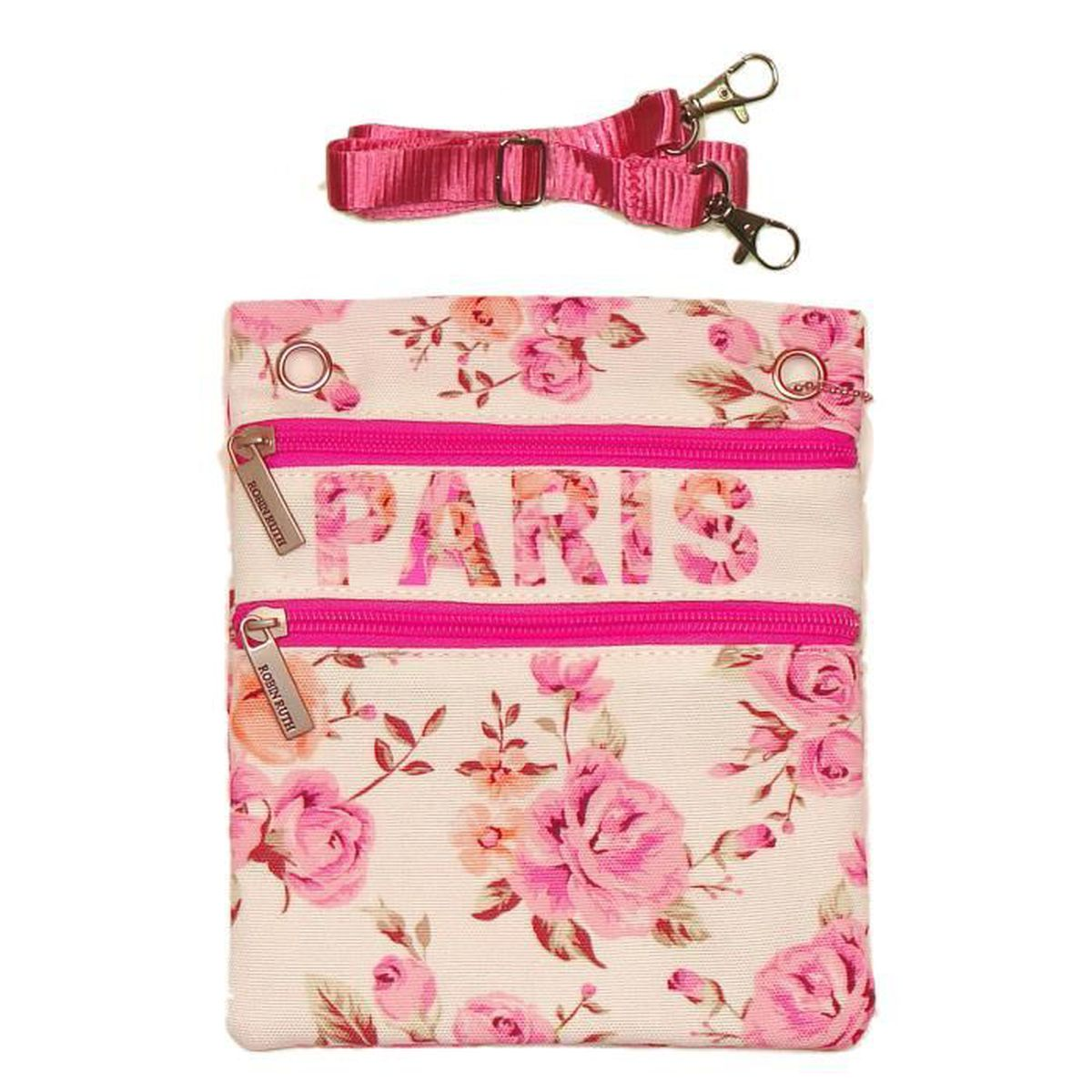 Rose Pochette Passeport Paris Robin Ruth