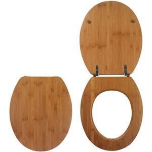 ABATTANT WC WIRQUIN - Abattant casual line bamboo nature