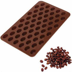 MOULE  Grains de café Chocolat en silicone moule bonbons