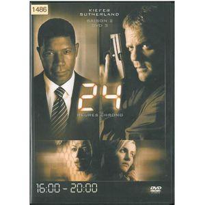 DVD SÉRIE 24 HEURES CHRONO -SAISON 2 - DVD N°3