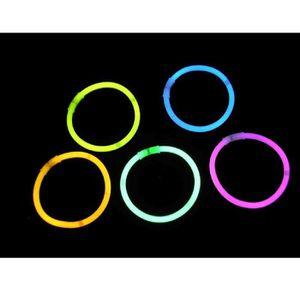 SHAKER - SET COCKTAIL  Lot 100 bâtons lumineux bracelet fluo touilleurs