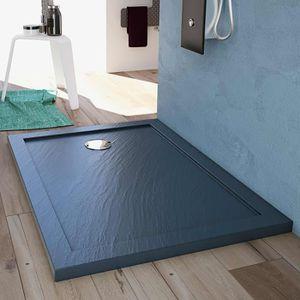 RECEVEUR DE DOUCHE Receveur de douche 80x140x4 cm rectangle acrylique