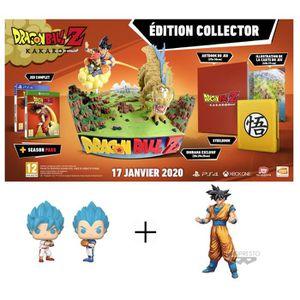 JEU PS4 PACK Dragon Ball Z : Kakarot Collector PS4 + Figur