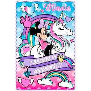 COUVERTURE - PLAID Minnie Plaid Disney - Couverture Polaire Disney