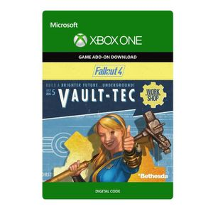 EXTENSION - CODE DLC Fallout 4 : Vault-Tec Workshop pour Xbox One