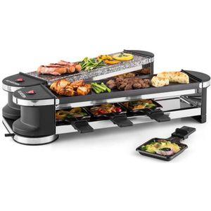 APPAREIL À RACLETTE Klarstein Tenderloin - Raclette-grill dépliable po