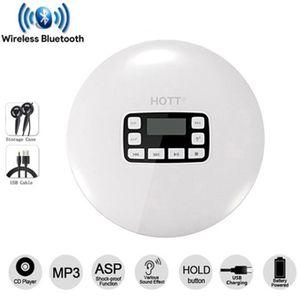 COQUE MP3-MP4 HOTT CD611T Bluetooth Mini portable professionnel