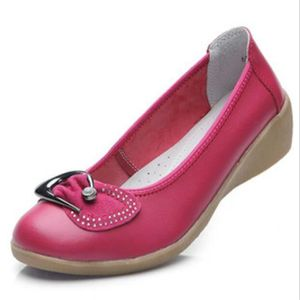 ESCARPIN Chaussures Femme Cuir Casual Comfortable Chaussure