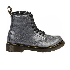 on feet at on feet images of buying cheap Bottines fille - DR MARTENS - Gris argent - 31 Gris - Achat ...