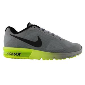 BASKET Nike Men's Air Max Sequent Running Shoes, Black, 6