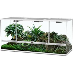 VIVARIUM - TERRARIUM Terrarium 132x45x60 Blanc - Aquatlantis