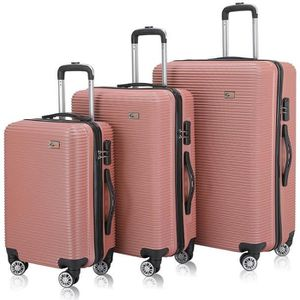 SET DE VALISES SAMAX Valise Trolley Set 'City' Valises Rigideen R