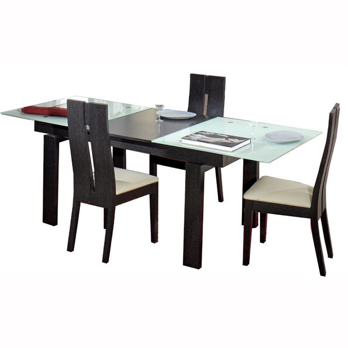 tables extensibles achat vente tables extensibles pas cher cdiscount. Black Bedroom Furniture Sets. Home Design Ideas