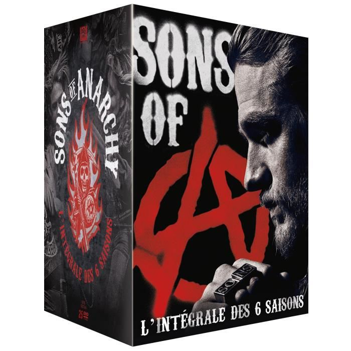 DVD SÉRIE DVD Coffret sons of anarchy, saisons 1 à 6