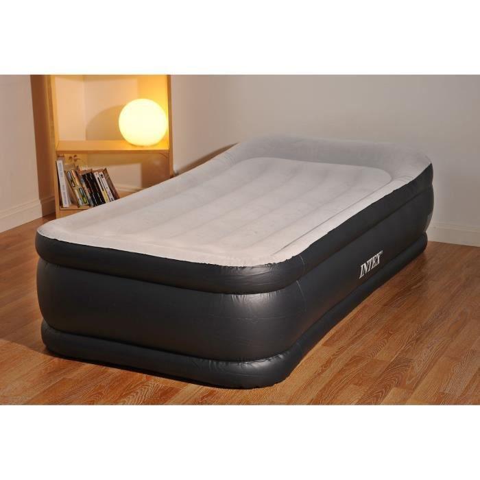 Intex Matelas Gonflable Deluxe Rest Bed 99x191 Cm Fermeté