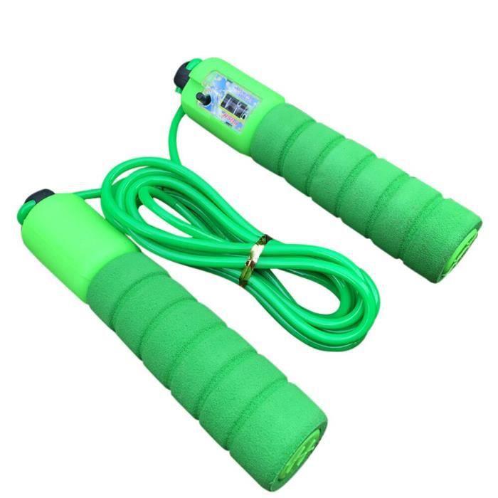 Accessoires Fitness - Musculation,Enfants enfants corde à sauter sauter corde longueur réglable comptage automatique - Type Green