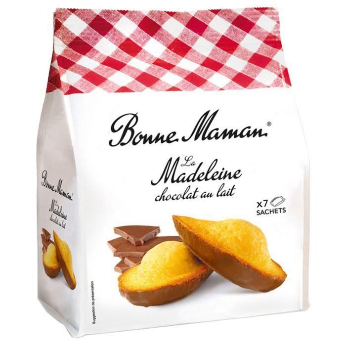 Bonne Maman - Bonne Maman Madeleine Chocolat (lot de 3)