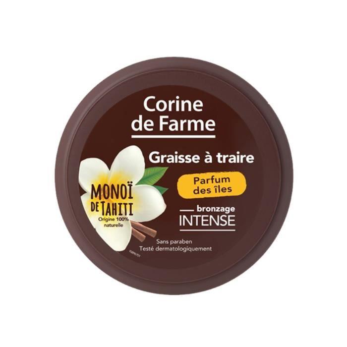 Corine de Farme - Graisse à Traire - Parfum des îles - Monoï Bronzage - 150ml