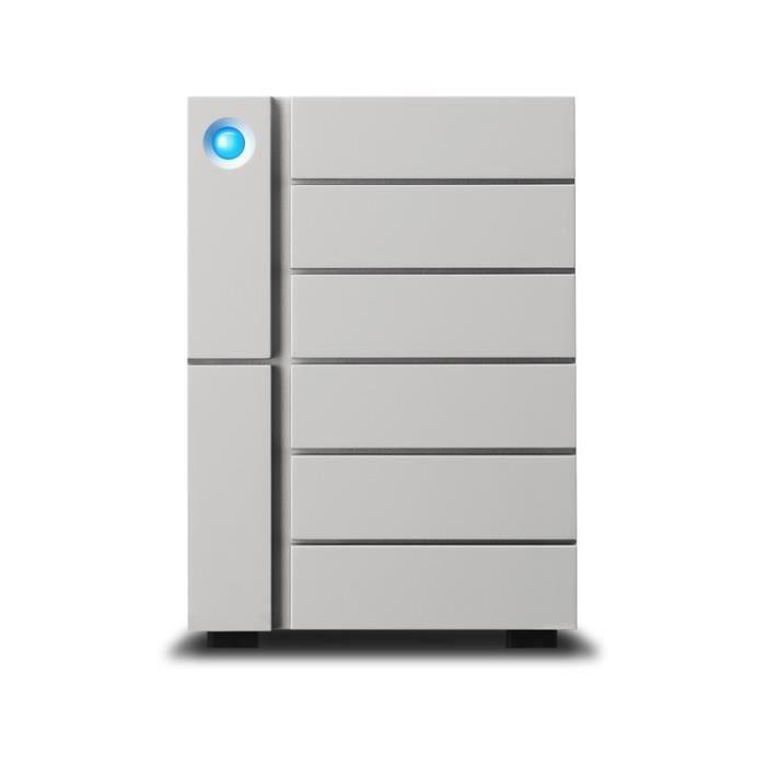 [Neuf] Serveur de stockage en réseau Système RAID LaCie 6big Thunderbolt 3 - Stockage RAID 6 Baies 84 To (Disques Serveurs)