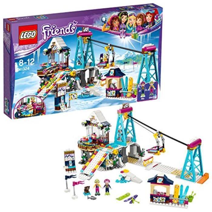 Jeu D'Assemblage LEGO LIPL5 UK 41324 Snow Resort Ski Lift Construction Toy