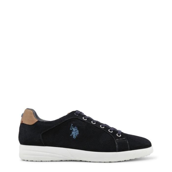U.S. Polo - Sneakers pour homme (FALKS4170S8_S1_DKBL) - Bleu