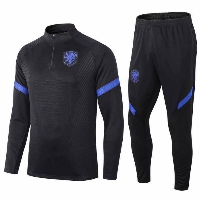 Pays-Bas Maillot de Foot Football Soccer Suit 2020 2021 Pas Cher Maillot Équipe de Hollande Nouveau Survetement Training pour Homme