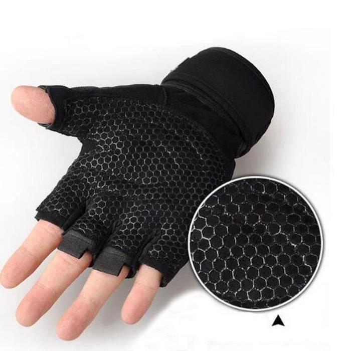 Gants de sport, une paire, utilisés pour le cyclisme, le fitness, la musculation