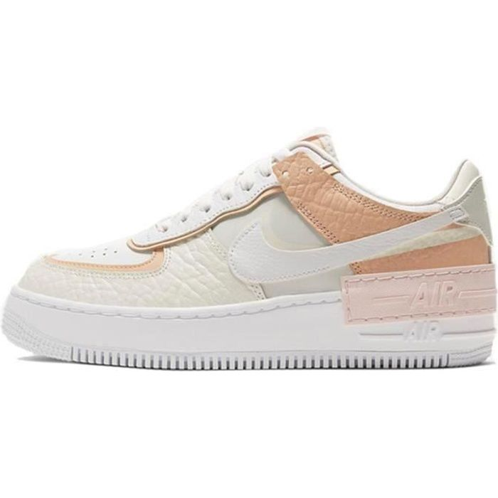 Basket Air Force 1 Shadow Air Force One AF 1 Low Chaussures de Running Femme CK3172-1002