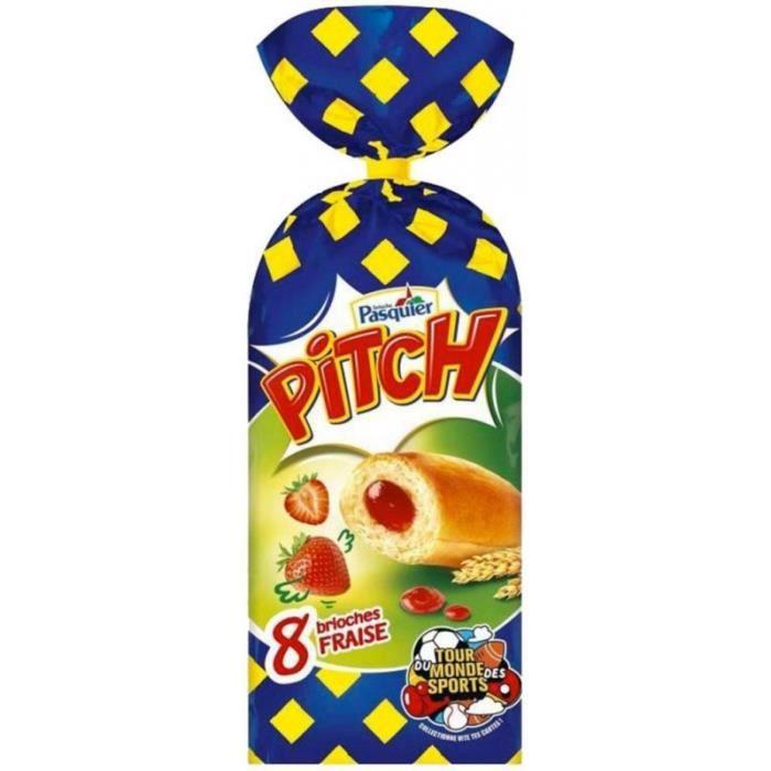 Pitch Brioches à la Fraise 310g (lot de 3)