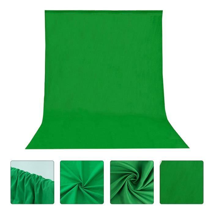 1pc Toile de Fond Vert Léger Réutilisable de Pour Le Intétrieur Photographie Photo fond de studio studio photo - eclairage