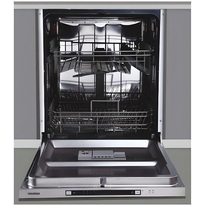 Lave-vaisselle encastrable 12 couverts Rosieres RFS2F272X-47 TU Unique