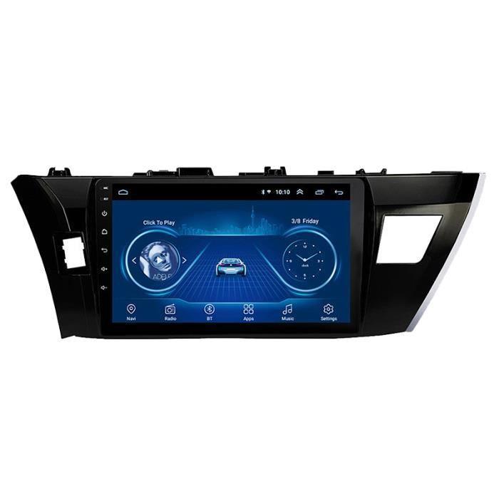 Nouveau Lecteur Multimédia D'Autoradio 1 + 16G Android 10 pour Toyota Levin Corolla 2014-2016 Navigation Gps 2Din