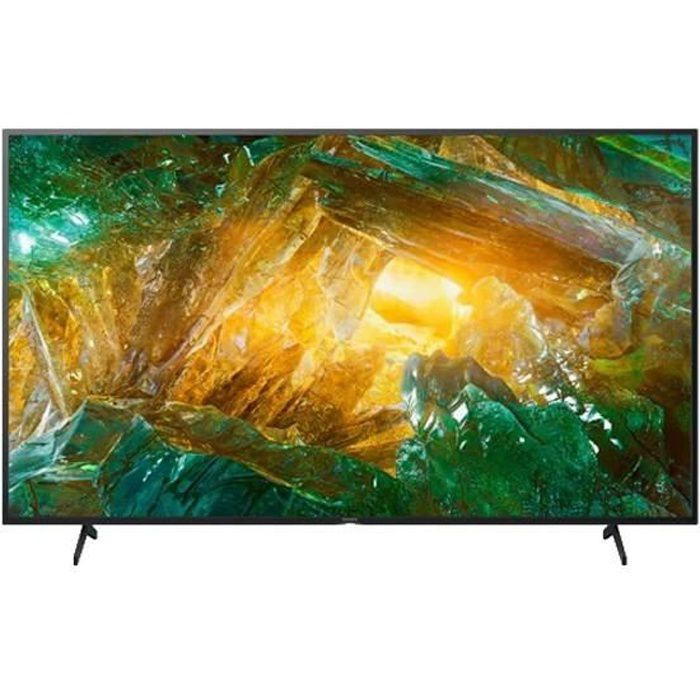 TV intelligente Sony Bravia KD65XH8096 65- 4K Ultra HD LED WiFi Noir