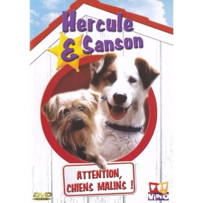 Hercule et Sanson - DVD - ATTENTION, CHIENS MALINS !