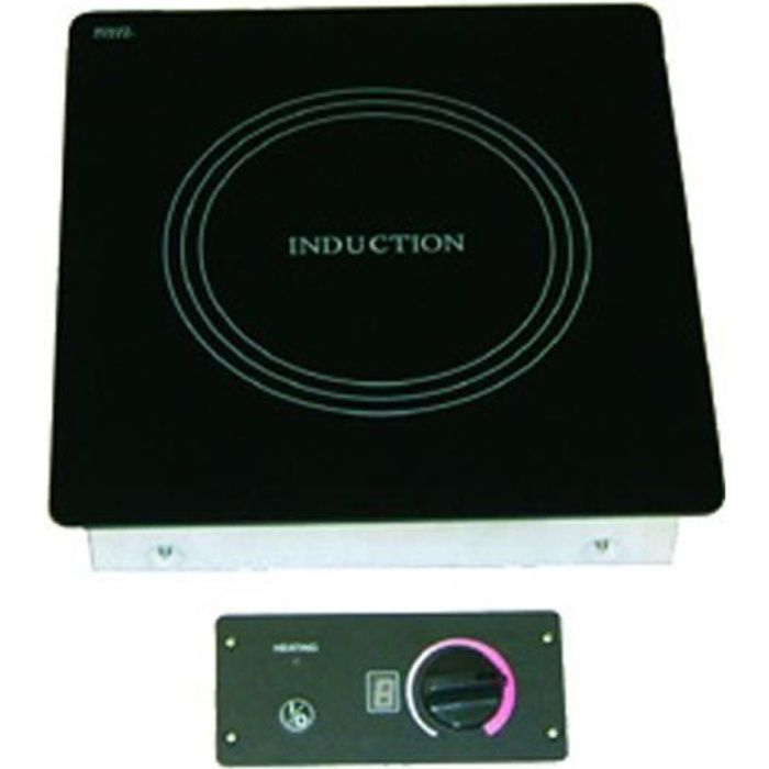 Plaque à induction encastrable simple foyer - L360 x P380 x H80 mm - VALERA