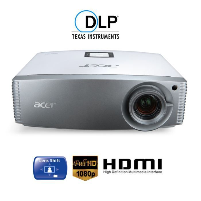 acer h9500 vid oprojecteur dlp full hd achat vente vid oprojecteur acer h9500 prix cass. Black Bedroom Furniture Sets. Home Design Ideas