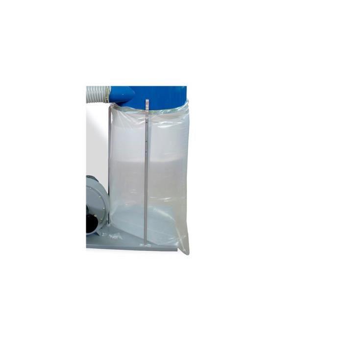 10 sacs plastique 700 mm r/écup/ération des copeaux aspirateur