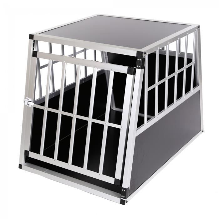 zoomundo cage de transport chien 1 porte premium achat. Black Bedroom Furniture Sets. Home Design Ideas