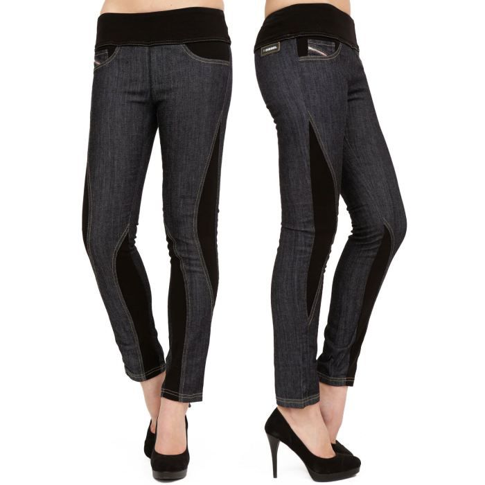 jegging diesel femme chero 8wz b noir noir achat vente legging cdiscount. Black Bedroom Furniture Sets. Home Design Ideas