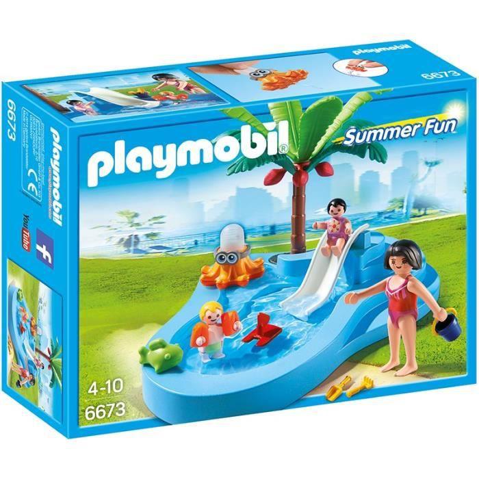 Photo de playmobil-6673-bassin-pour-bebes-et-mini-toboggan