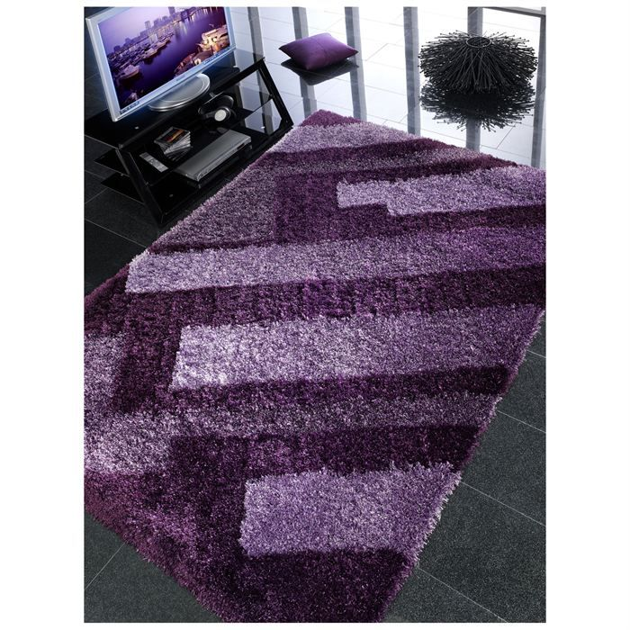 tapis alineas violet 170x240 unamourdetapis achat vente tapis cdiscount. Black Bedroom Furniture Sets. Home Design Ideas