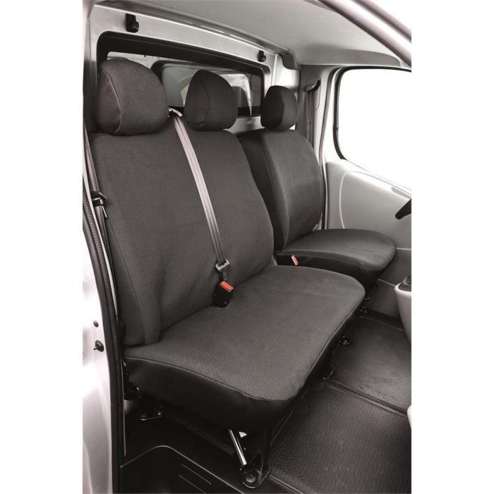 Massgefertigter Housse De Siège F transporteur noir pour Opel Vivaro 2001-10//14