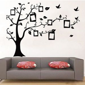 stickers muraux arbre photo achat vente pas cher. Black Bedroom Furniture Sets. Home Design Ideas