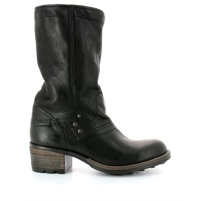 Bottines cuir PLDM by PALLADIUM CAPPER CMR Black